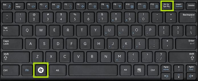 Скриншот в Windows 8 и Windows 8.1
