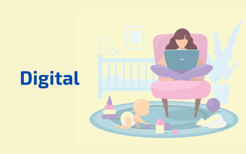 как зарабатывают дома мамы в декрете digital профессии