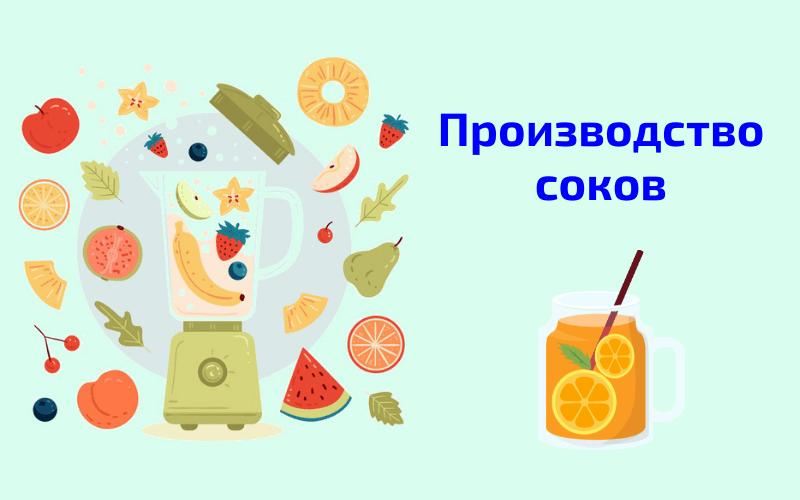 бизнес в домашних условиях производство соков