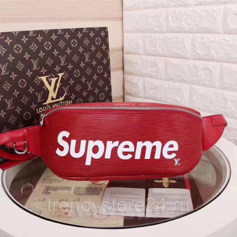 примеры коллаборации - Коллаборация Supreme с Louis Vuitton